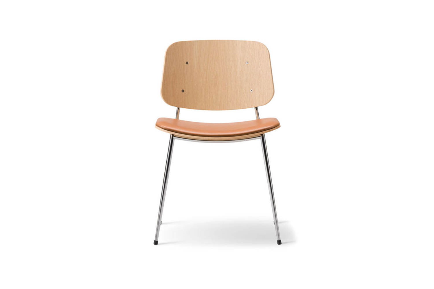 the soborg upholstered seat chair metal base is similar to the simple dining ch 24