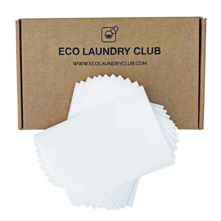 Eco Laundry Club laundry detergent strips