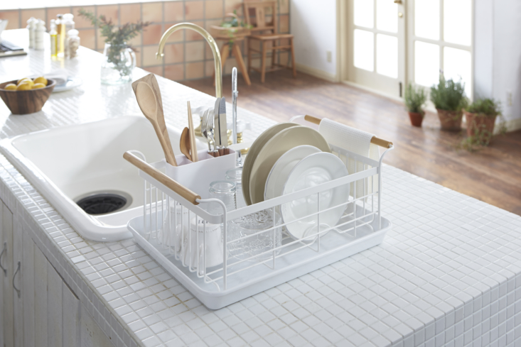 above: we first posted about the tosca over the sink expandable dish drying rac 10