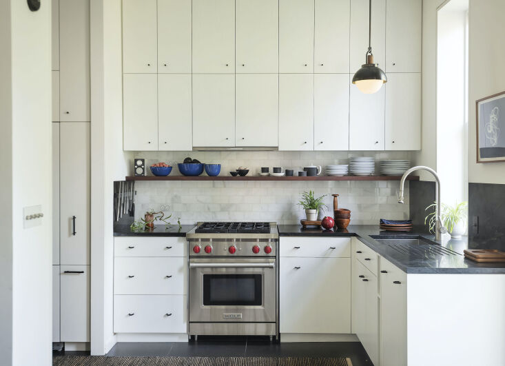Current Obsessions Upcycled Finds Architect Elizabeth Roberts' own Brooklyn kitchen update.