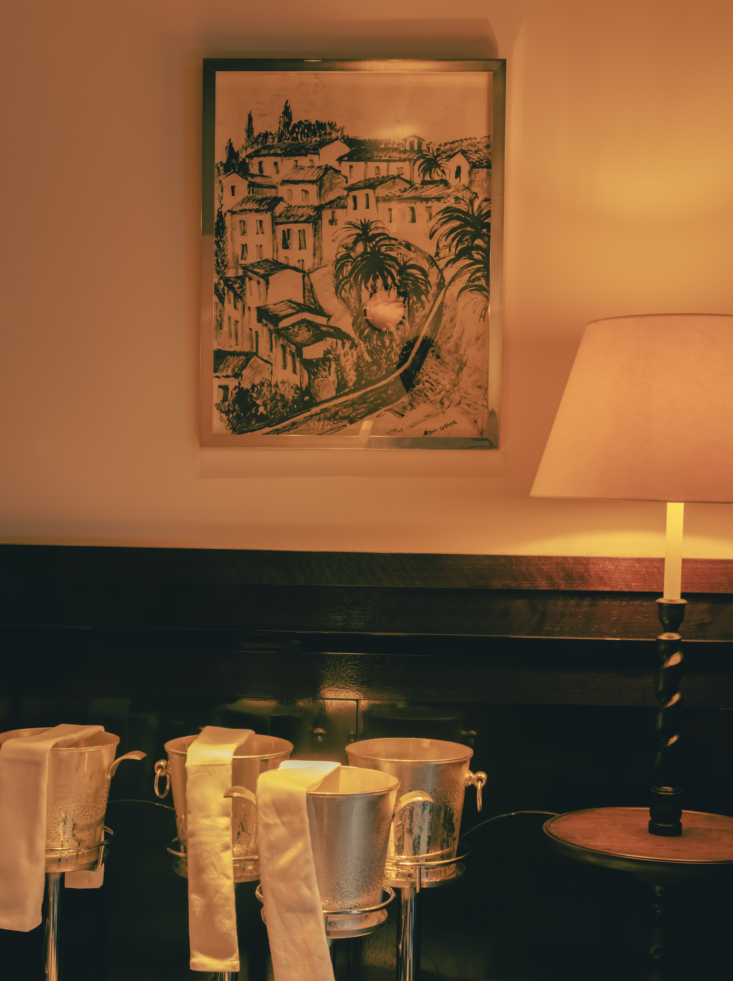 OldWorld French Summer Htel La Ponche in SaintTropez Bar at Hotel La Ponche in St. Tropez