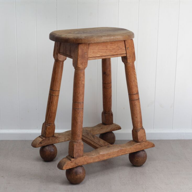 push pull ball foot side table