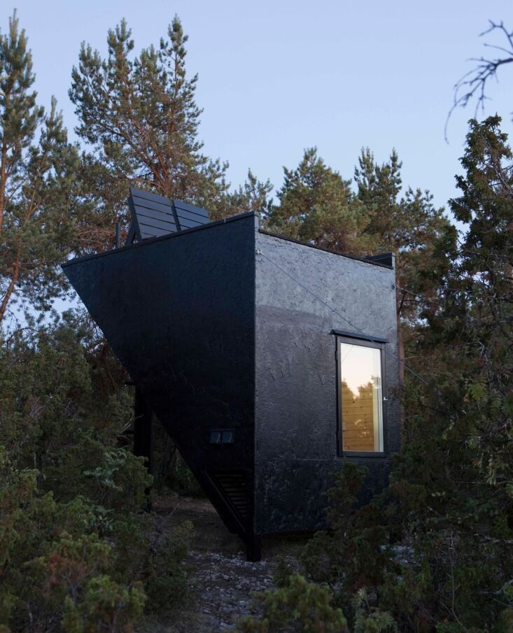 Current Obsessions Upcycled Finds Sauna Gotland Sweden DOH