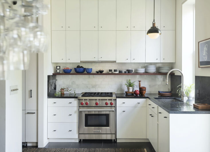Current Obsessions Upcycled Finds Architect Elizabeth Roberts' own Brooklyn kitchen update