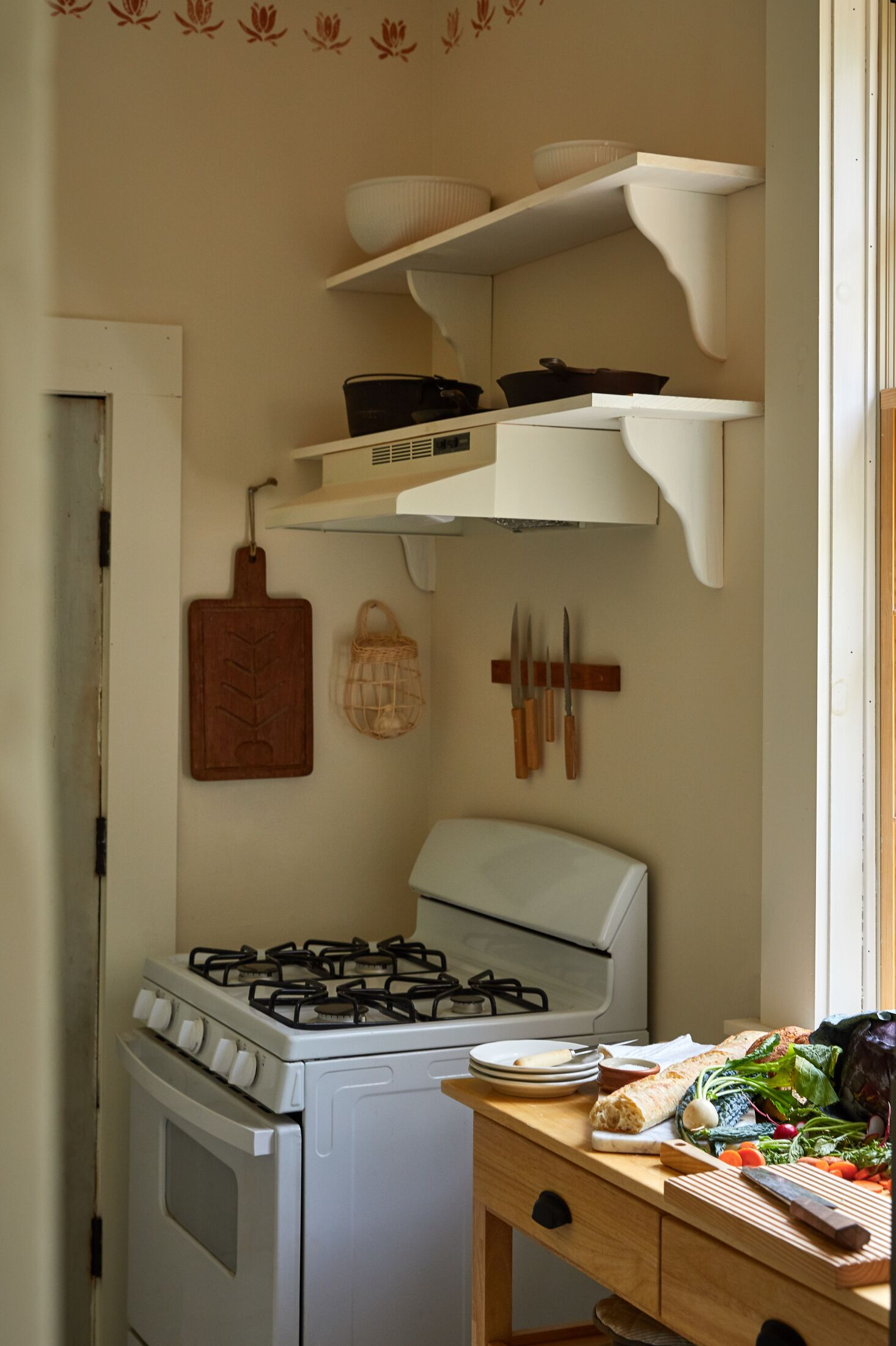 Remodeling 101 All About Stair Runners Kitchen at Bovina Farm and Fermentory, Photo by Christian Harder