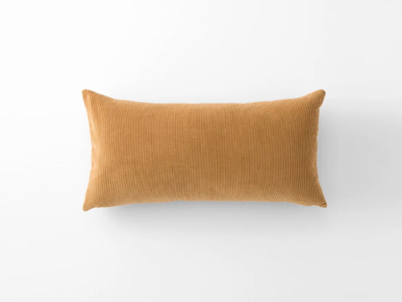 schoolhouse velvet and corduroy lumbar pillow 16