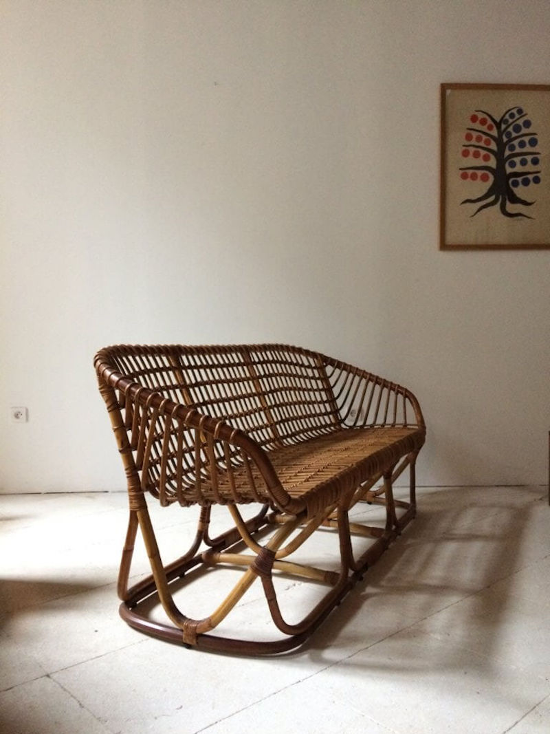 french wicker and rattan specialists atelier vime source a number of woven benc 16