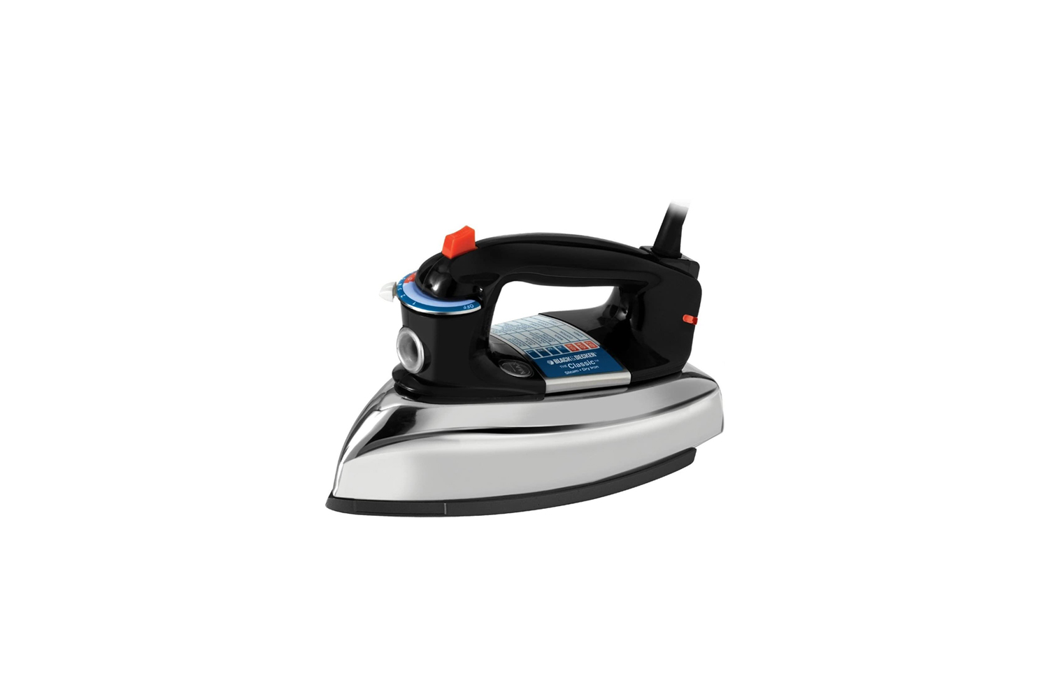 looking for a basic iron without bells and whistles? the black + decker classic 17