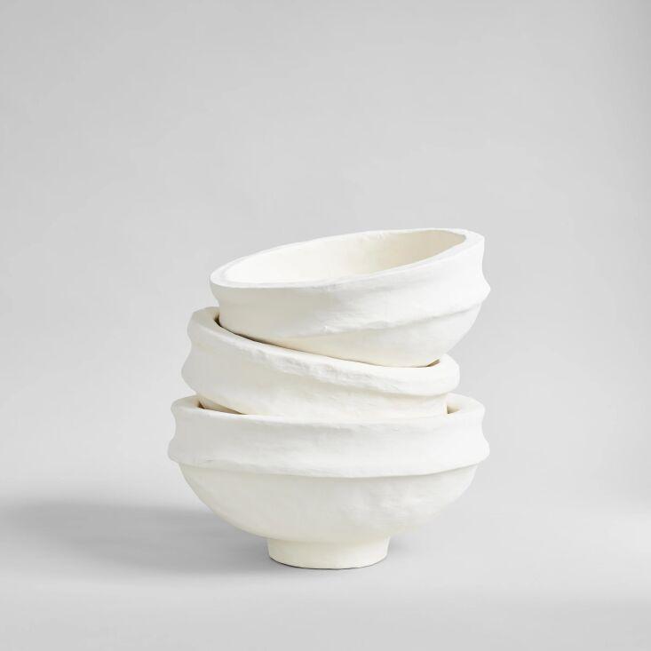 bloomist's medium caribbean craft papier mâché bowls, 12 inches 11