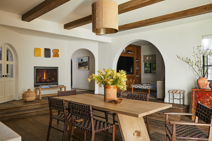 the project was remodel that included a new addition that houses the kitchen an 12