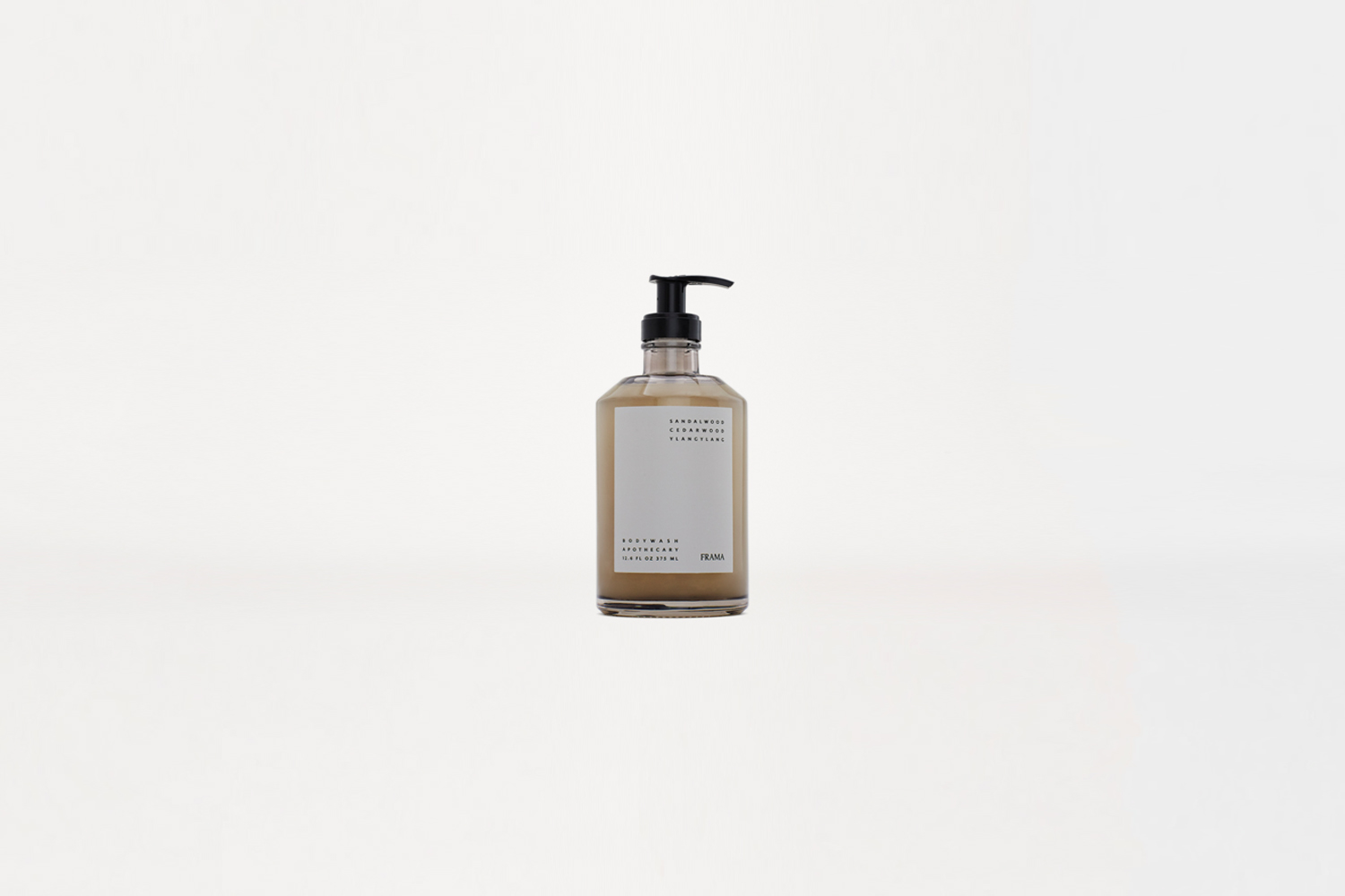the frama apothecary body wash in a scent of sandalwood, cedar wood, and ylang  22