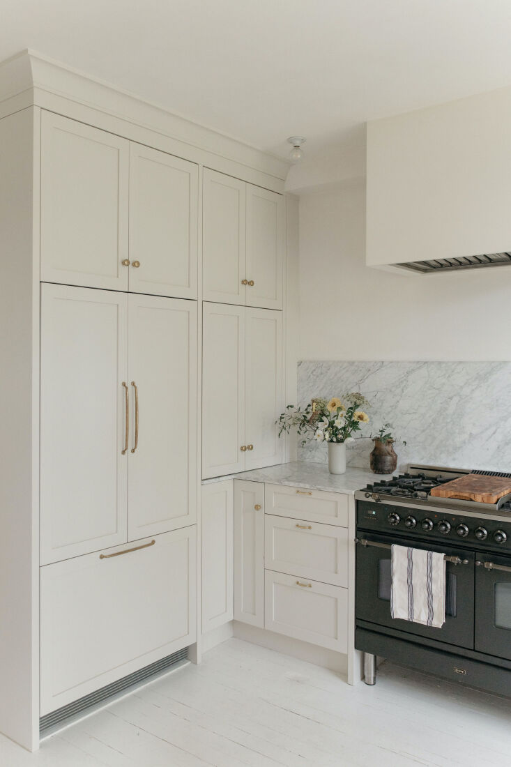 one of the perks of custom cabinetry is carving out storage space from the tini 11