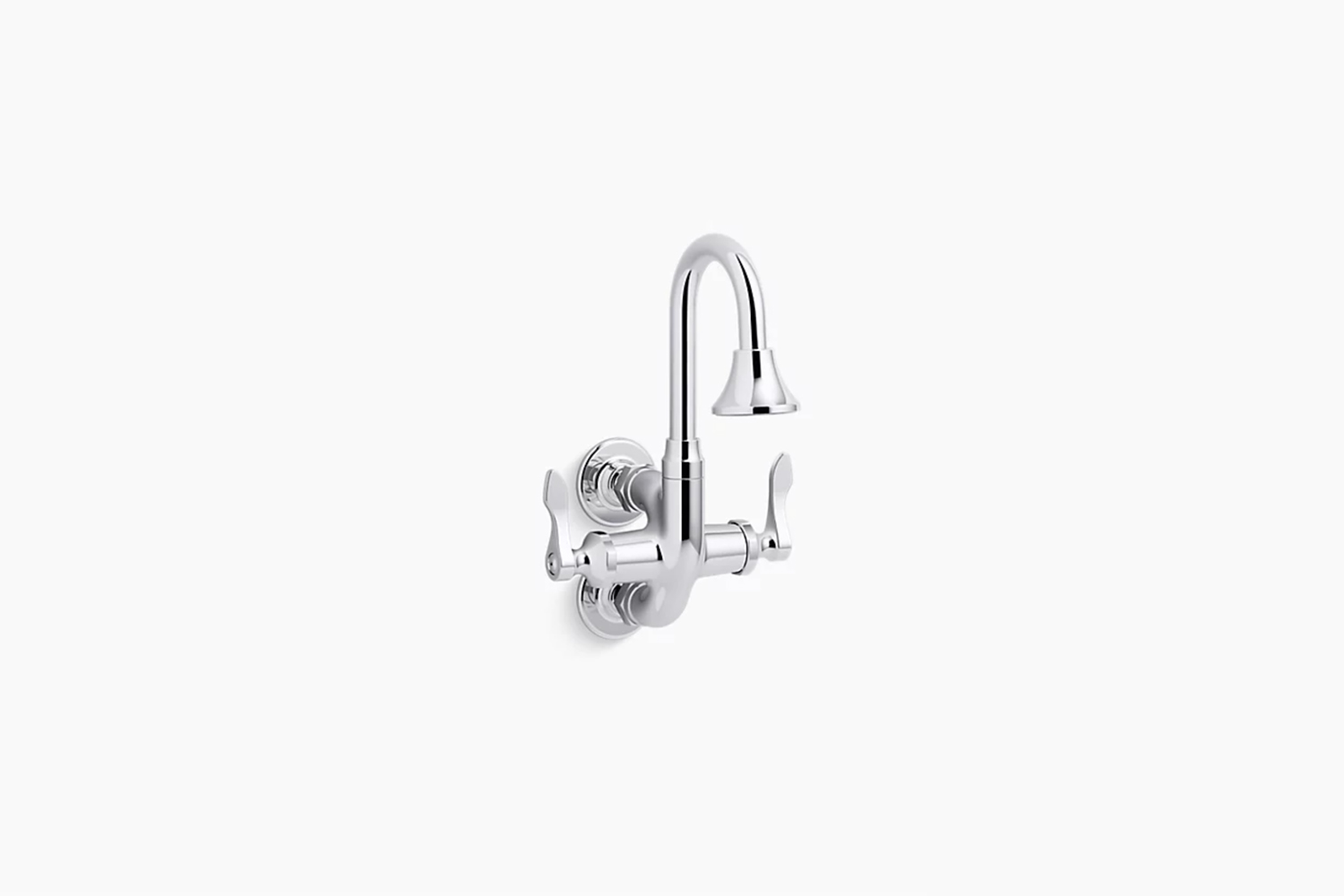 the triton bowe cannock \1\2 gpm service sink faucet with gooseneck spout and l 17