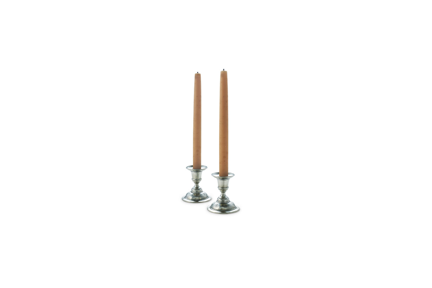 the match pewter martina candlestick holder pair is \$\1\29 at neiman marcus. 20