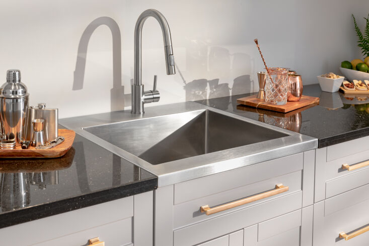 above: shown here in a home bar set, newage's faucets and premium quality, 30 15