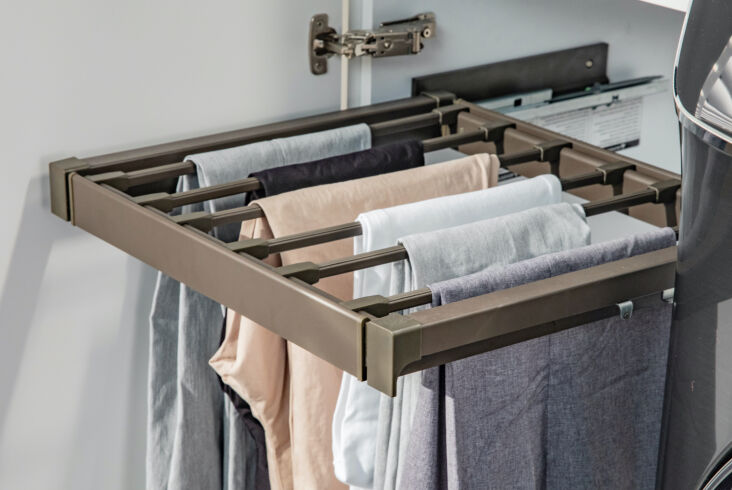 above: a custom wardrobe for less: outfit the laundry (or the closet) with buil 12