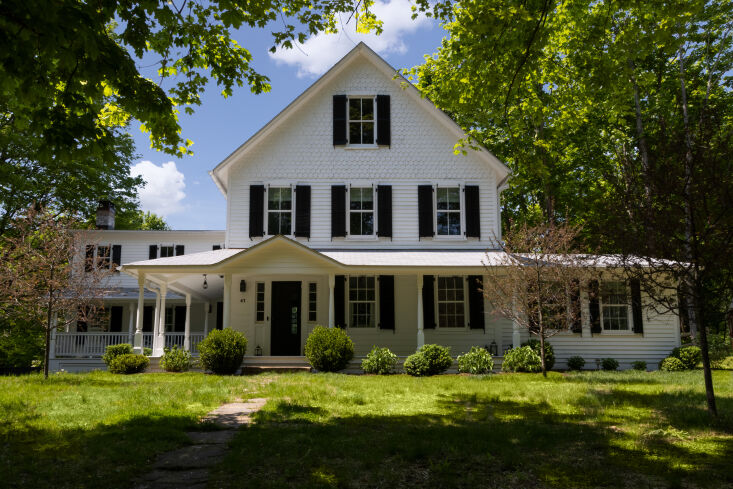 """the farmhouse, redone. the couple wanted to act as """"stewards&#8 9"""