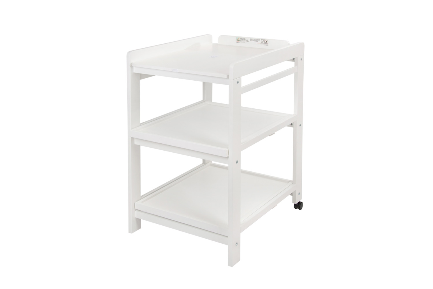 the quax comfort changing table has removable shelves; \$3\14 at smallable. 16
