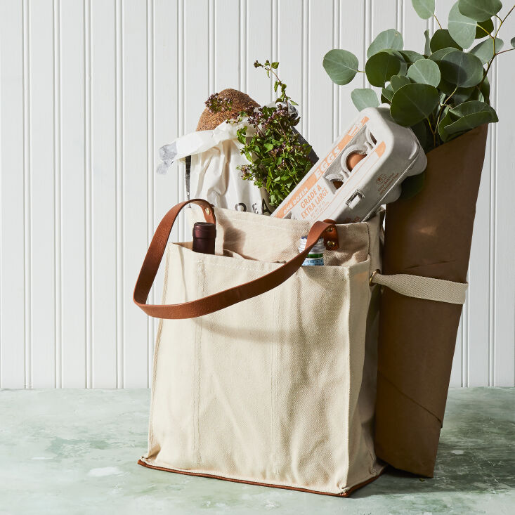 a hardy and versatile favorite: the multi pocket canvas market tote by capabung 9
