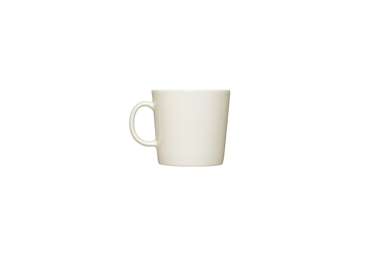 designed by kaj franck for iittala, the teema mug in white is $25 at danish d 11