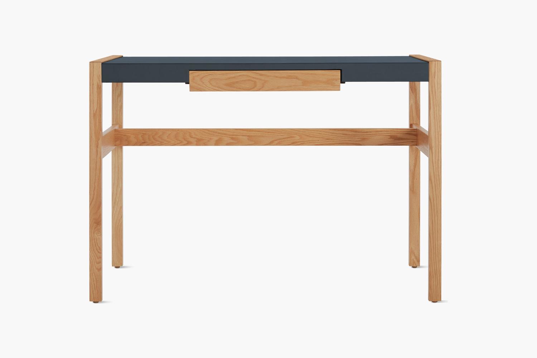 designed by jens risom in \1968, the risom desk comes in ebonized oak, oak, and 15