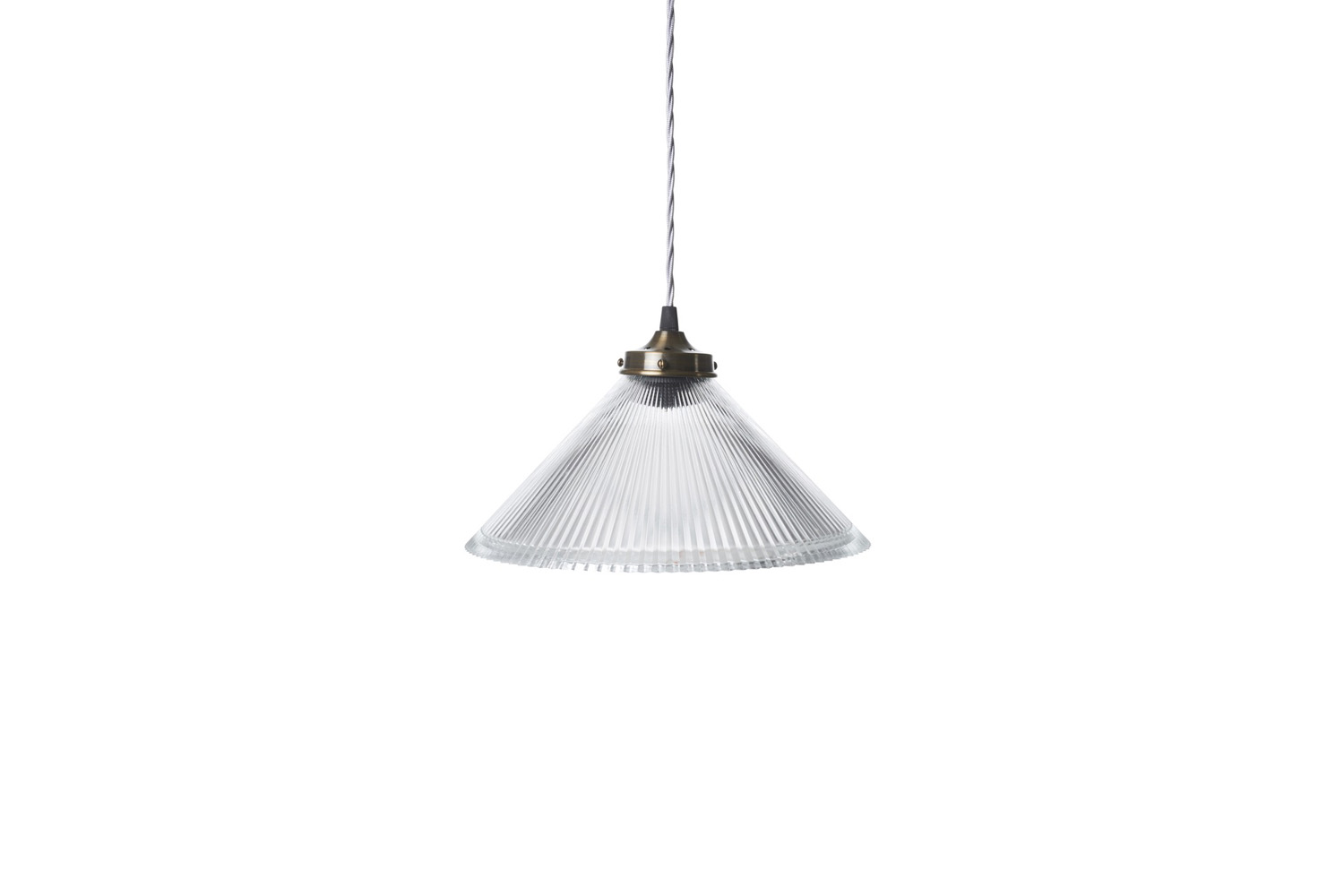 from the french house, the conical prismatic pendant light is £\1\19. 17