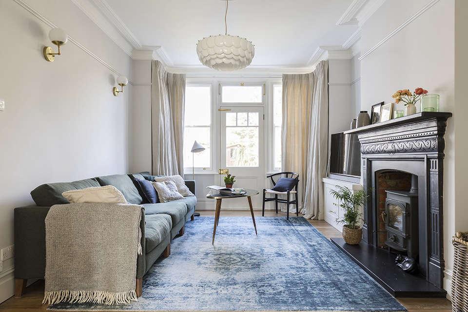 open plan living room 9