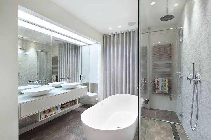 the master bathroom 17