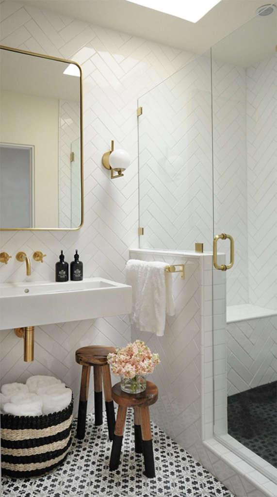 bright + modern santa fe bathroom 3  built design collective 11