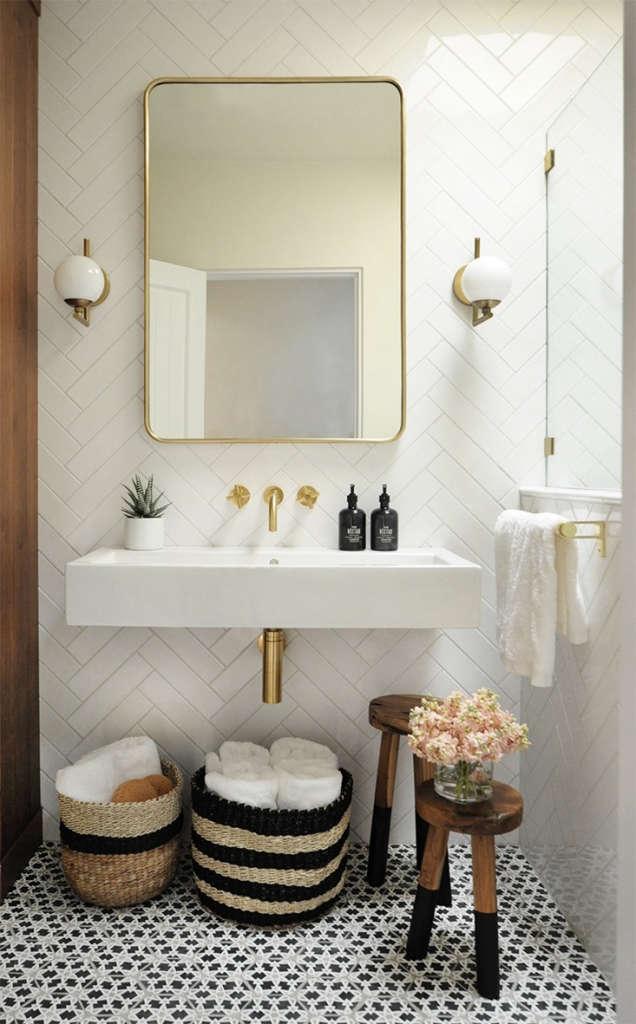 bright + modern santa fe bathroom 1   built design collective 9