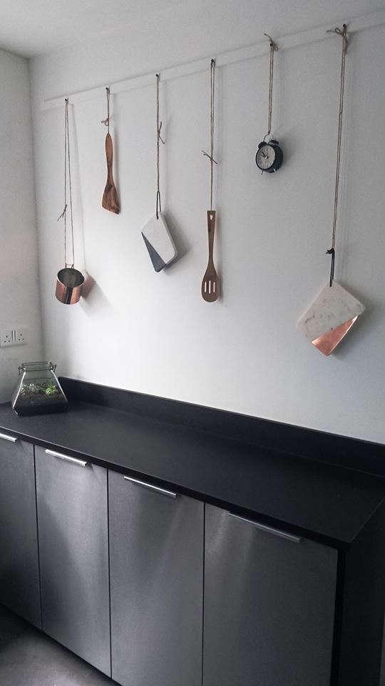 kitchen. steel. marble. copper. wood. ceramic. 12
