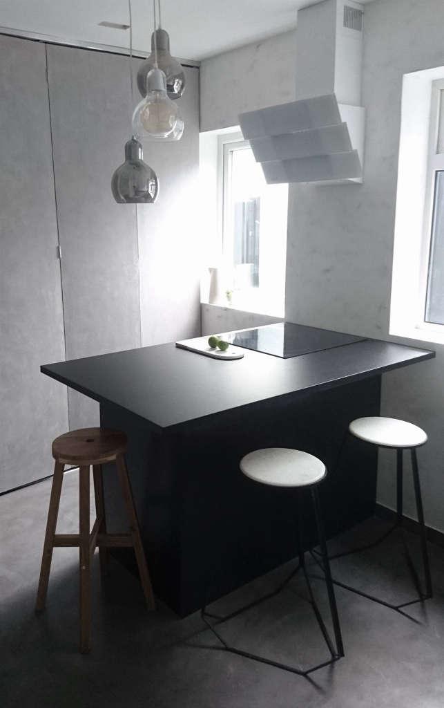 kitchen. folding panels. 11