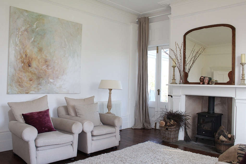 Contemporary pared back restoration of a period country house portrait 3 13