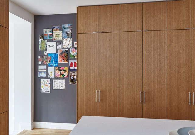 pantry wall and cork wall 13