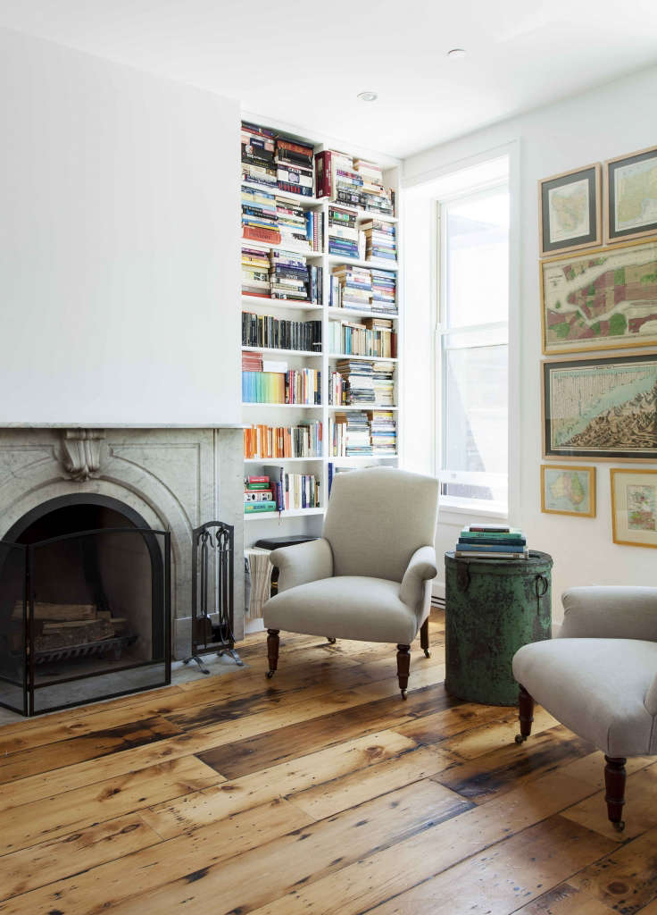 Cobble Hill Brownstone Living and Dining portrait 3 10
