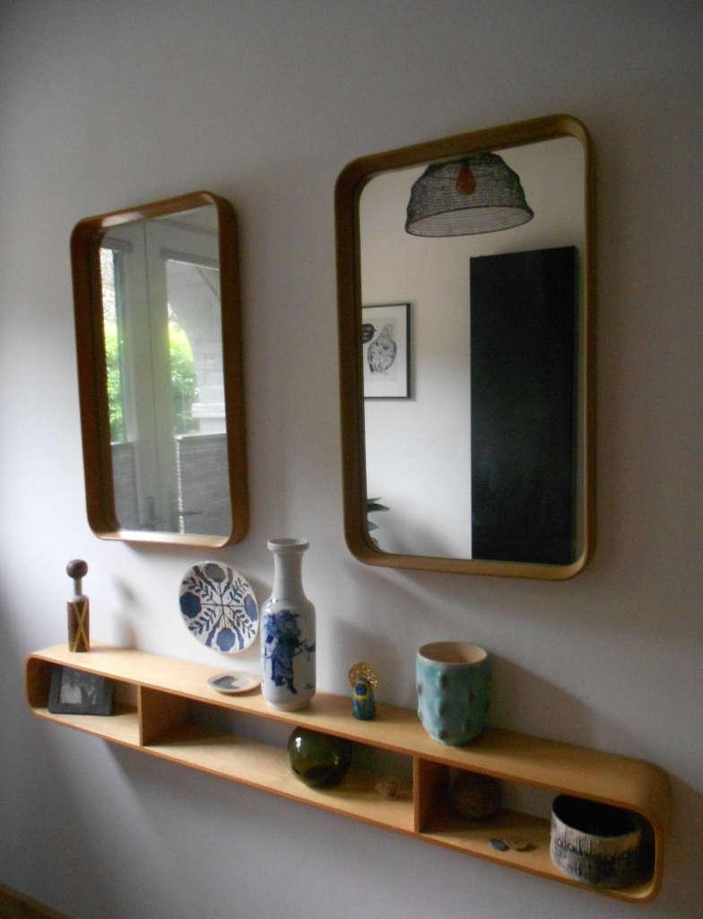 shelf and mirrors 10