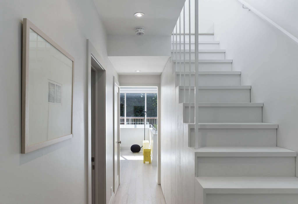 stairs to the attic office 11