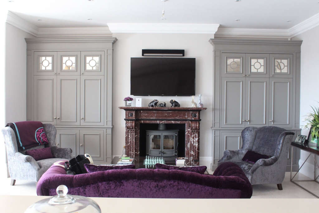feature alcove cabinets 13