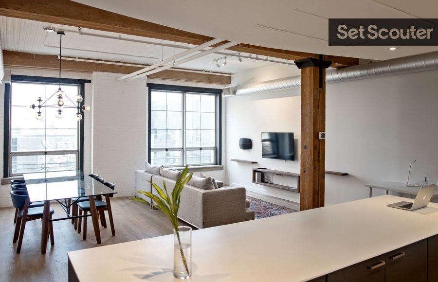 modern loft   open concept living / dinning 11