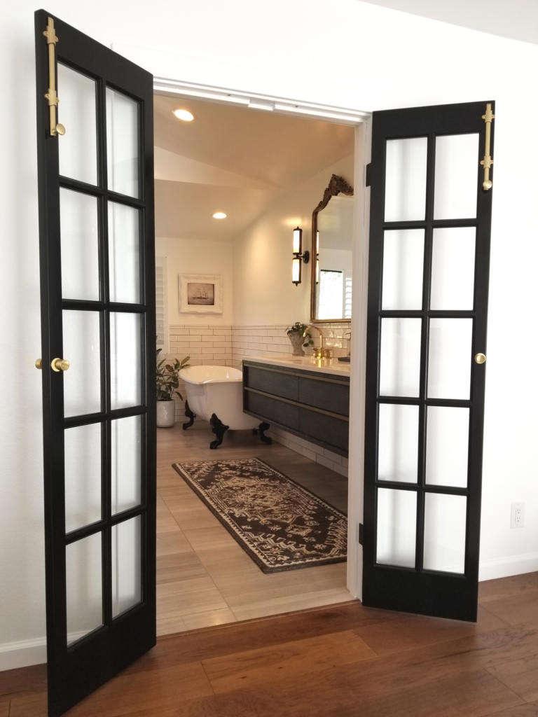 entrance into bathroom 9