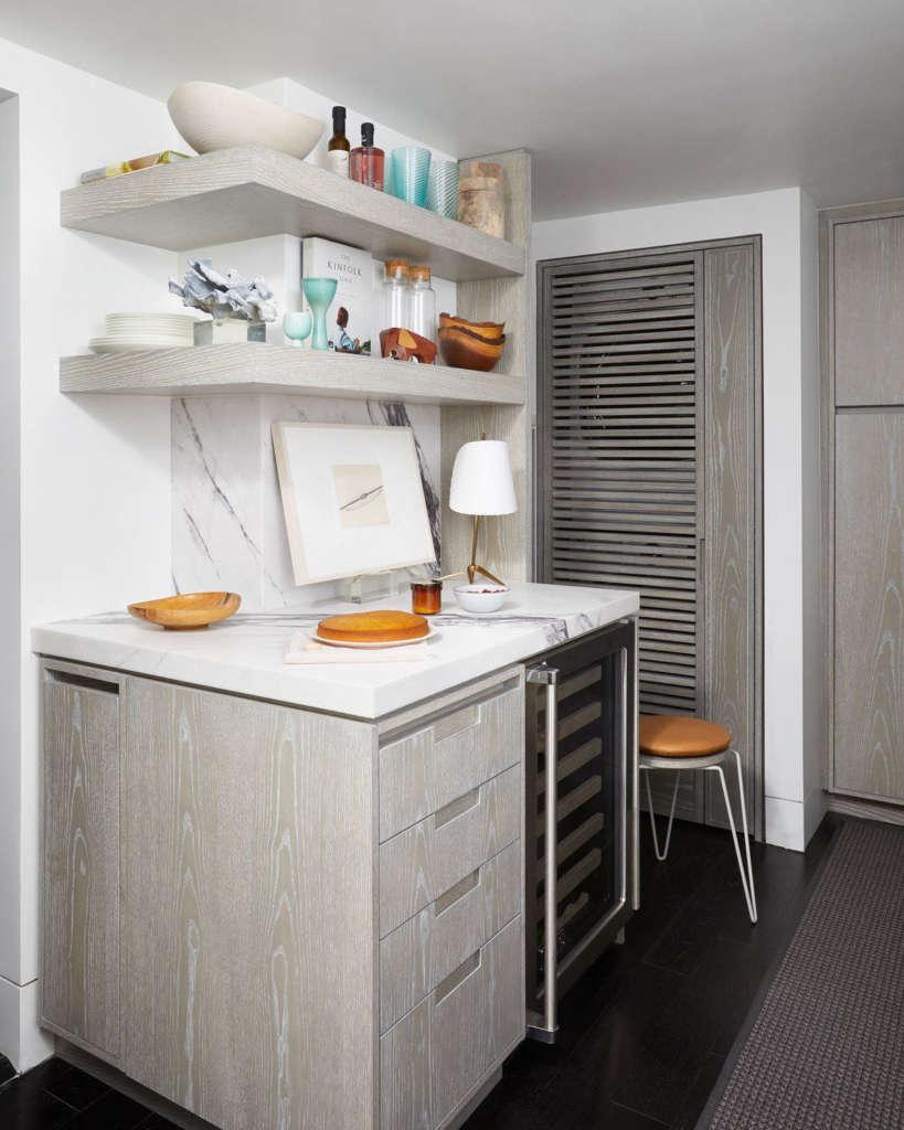 the designer's favorite – the open shelves 12