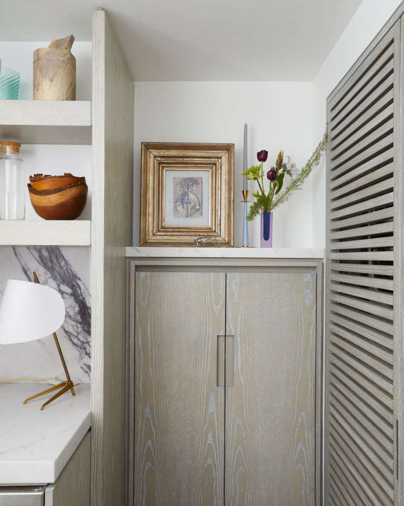 the owner's favorite – the spice cabinet and hidden washer and dryer 13