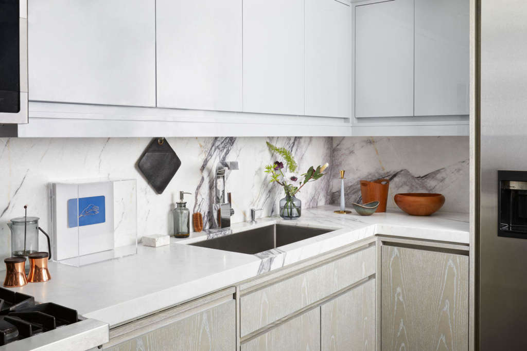 Monochromatic Hues  A kitchen that is an ode to Yves Klein portrait 3 14