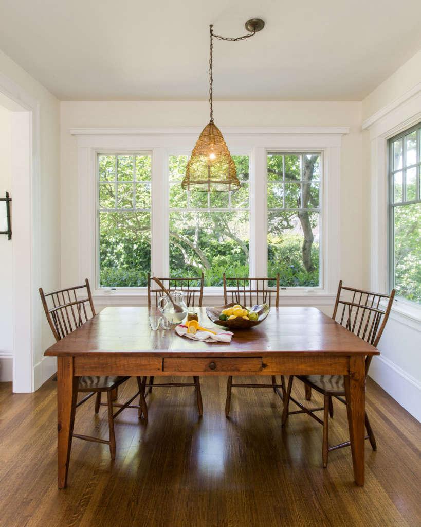 farmhouse kitchenette table 9