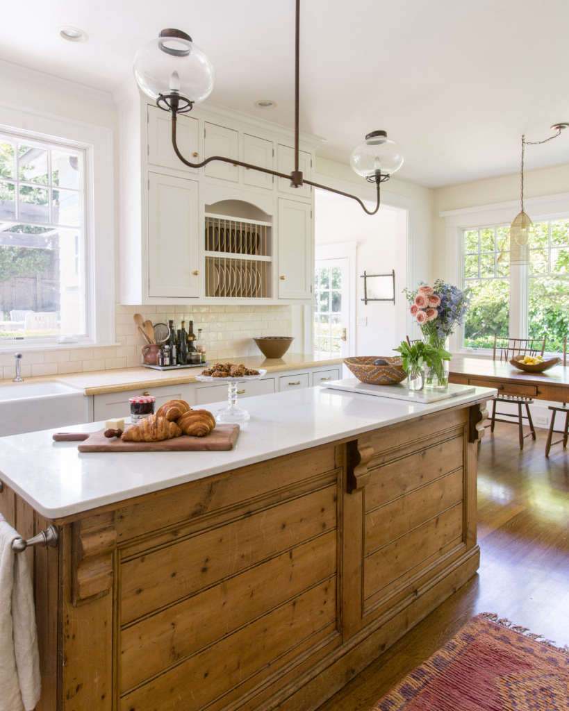 eclectic farmhouse kitchen 10