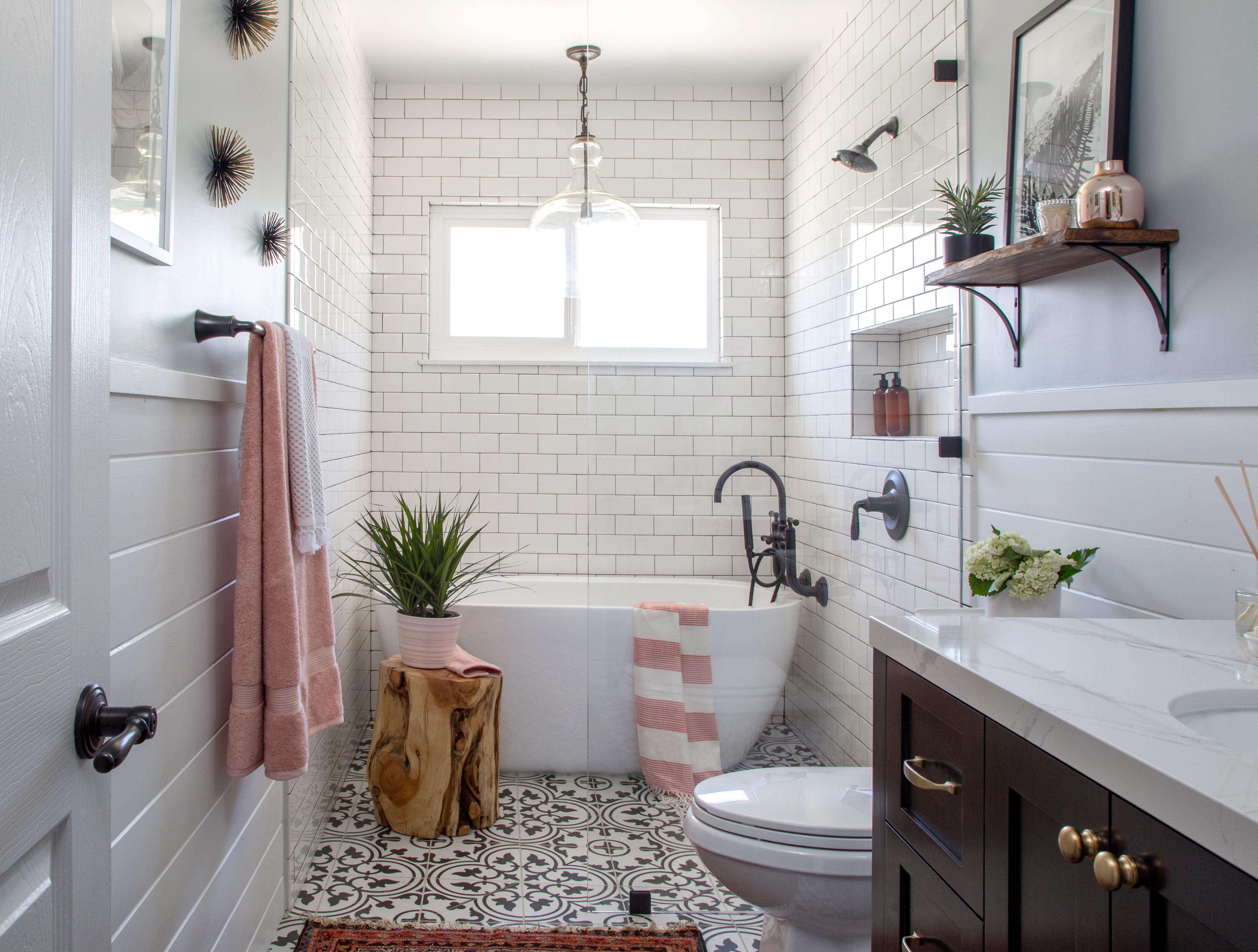 Modern Farmhouse Bath Remodel Remodelista, Modern Farmhouse Bathroom