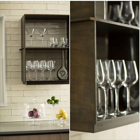 ceasarstone countertops and custom steel shelves 12
