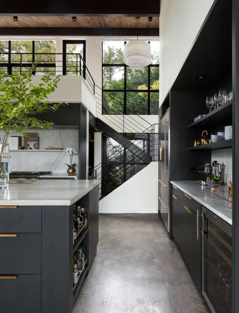 kitchen mezzanine stair 14