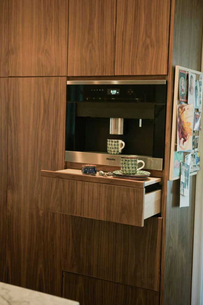 built in espresso station 10