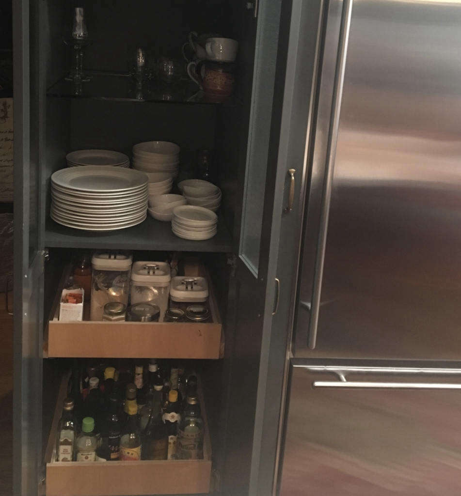 pantry items and dishware 13
